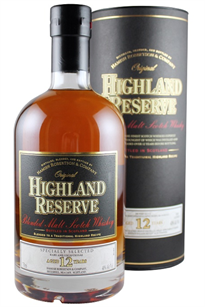 Highland Reserve Scotch Whiskey 12 Years Old 750ml
